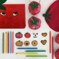 2017/07/28開催 絵本読み聞かせと「500色の色えんぴつ」を使った世界にひとつのプラバンバッジ作り