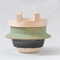 木蓋付 ごはん炊き専用羽釜(2合炊き)