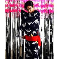 折鶴の浴衣
