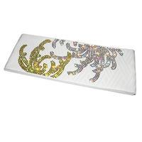 乱菊の半巾帯・白