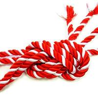 紅白の紐/紫白の紐