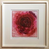 """アートプリント・シリーズ """"One hundred rose - 012 Red O"""""""