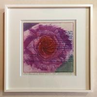 """アートプリント・シリーズ """"One hundred rose - 008 Poem B"""""""