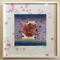 """アートプリント・シリーズ """"One hundred rose - 028 Rose B"""""""