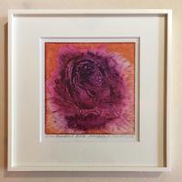 """アートプリント・シリーズ """"One hundred rose - 021 Purple"""""""