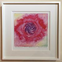 """アートプリント・シリーズ """"One hundred rose - 015 Abstract 1"""""""