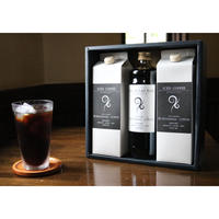 リキッドアイスコーヒー(無糖)2本 & カフェオレベース(加糖)ギフト
