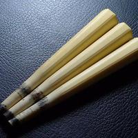 ▲三味線道具/本象牙材六角面取糸巻69g/糸締め3本セット材料▲NE99▲