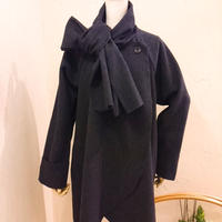 helter skelter/マフラーコート(CHARCOAL GRAY)