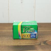 【35mmネガフィルム】FUJIFILM(富士フイルム)フジカラー SUPERIA Venus 800 27枚撮【ビーナス800 27枚撮 1本パック】