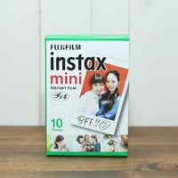 """【チェキフィルム】FUJIFILM(富士フイルム)""""チェキ用フィルム""""instax mini film 白フレーム【10枚パック】"""