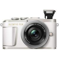 【ミラーレス】OLYMPUS(オリンパス) PEN E-PL9・14-42mm 40-150mm ホワイト【カメラ+レンズ2本】