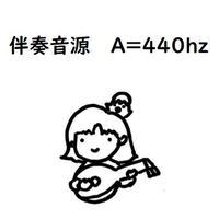 リュート入門 単旋律の練習 伴奏 (A=440hz)