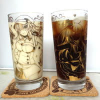 カフェちゃんとブレークタイム グラス
