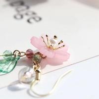 ピアス*桜の花びら*クリアリーフ(0087)