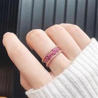 リング*指輪*ハート*ローズゴールド(0216)