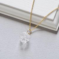 Stardust necklace/ 14kgf Chain