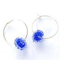 14kgf  Mizore hoops Blue