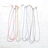 Silk code necklace/ You can chose the color!!