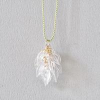 Seeds necklace / Silk code+14kgf
