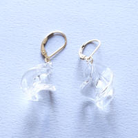 14kgf Conomi earrings Spiral