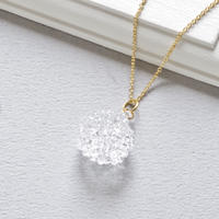 Mizore necklace / 14kgf Chain