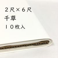 2尺×6尺 千草(白)10枚入