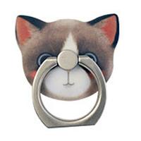 猫型 ホールド リング  05.Dora(ハチワレ)