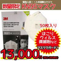 送料無料!【数量限定】KN95マスク 3M