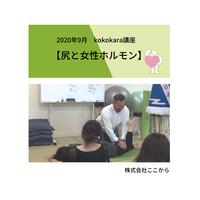 尻と女性ホルモン(2020年9月kokokara講座)☆