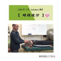 眼精疲労(2020年3月kokokara講座)☆