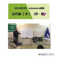 木(肝・胆)/2019年5月 kokokara講座☆