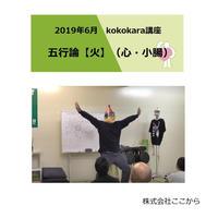 火(心・小腸)/2019年6月 kokokara講座☆