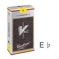 E♭クラリネット リード V12  (10枚入り)