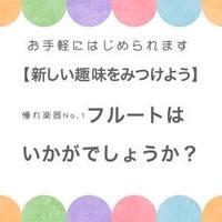 【初心者入門特別セット】フルート
