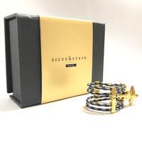 B♭クラリネット リガチャー SILVERSTEIN 【Quattro Gold】(N-tune)