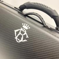 バイオリンケース  BOGARO&CLEMENTE ボガーロ&クレメンテ  カーボンブラック/MAT