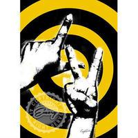 キャンバス 727×530×D20mm 【 sign language 】