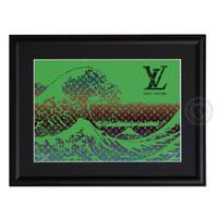 A4 ポスターフレームセット 【 HOKUSAI × LV #sh47 】