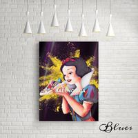 白雪姫 トリプルソール バレンシアガ オマージュアート_P10P20サイズ『Blues』