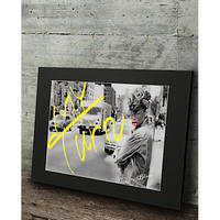 リアーナ コラージュ ニューヨーク おしゃれアート 高級マットパネル_A2A1サイズ『Blues』