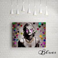 マリリンモンロー ヴィトン モノグラム キャンバス_P10P20サイズ『Blues』