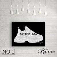 バレンシアガ スニーカートリプルS_P10P20サイズ『Blues』