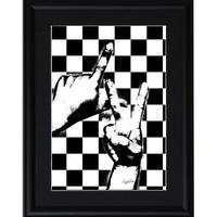 A4 ポスターフレームセット 【 sign language 】