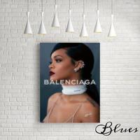 リアーナ バレンシアガ フォト キャンバス_P10P20サイズ『Blues』