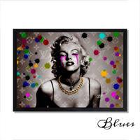 マリリンモンロー ヴィトン モノグラム アート_A2A1サイズ『Blues』
