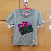 コンパルくんTシャツ(グレー・キッズ)