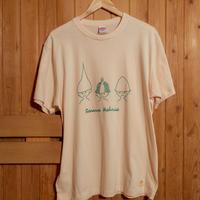 サウナハットリオTシャツ(アイボリー)