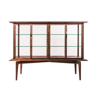 hyuece glass cabinet