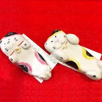 九谷焼  箸置き 猫(単品売り)